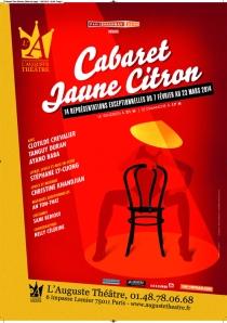 Cabaret Jaune Citron 2014 med